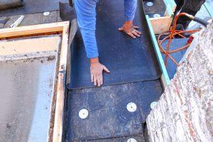 asphaltage de toiture
